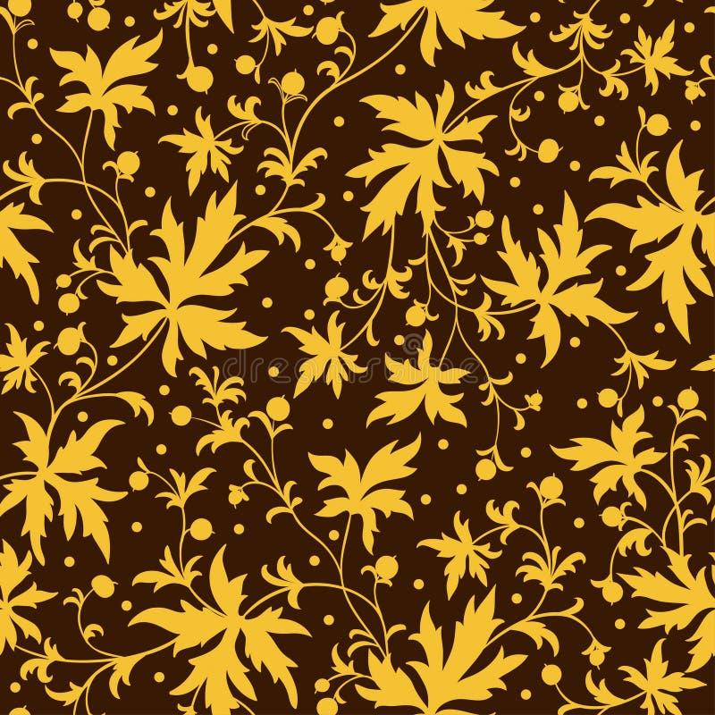 Πανέμορφος άνευ ραφής floral ελεύθερη απεικόνιση δικαιώματος