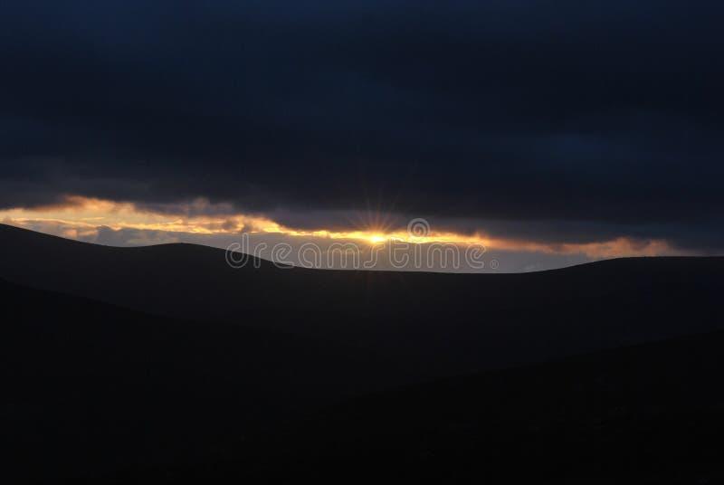 πανέμορφο ηλιοβασίλεμα στοκ εικόνα με δικαίωμα ελεύθερης χρήσης