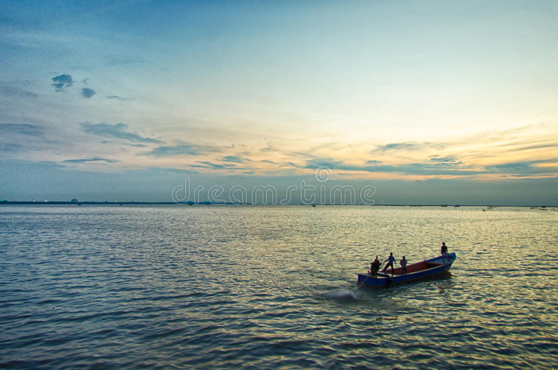 Πανί ψαράδων στοκ φωτογραφία με δικαίωμα ελεύθερης χρήσης