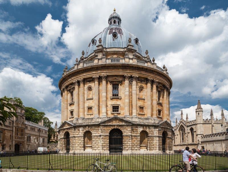 Πανεπιστήμιο της Οξφόρδης Αγγλία καμερών Radcliffe στοκ εικόνα