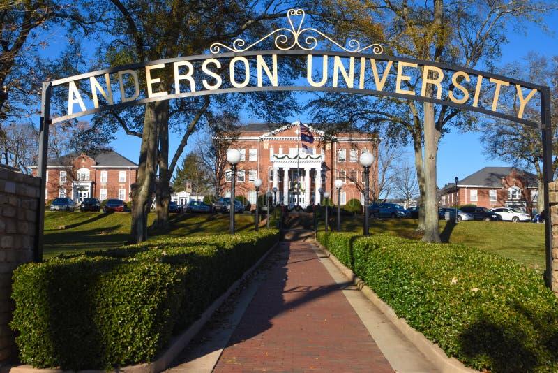 Πανεπιστήμιο του Άντερσον στοκ φωτογραφίες με δικαίωμα ελεύθερης χρήσης