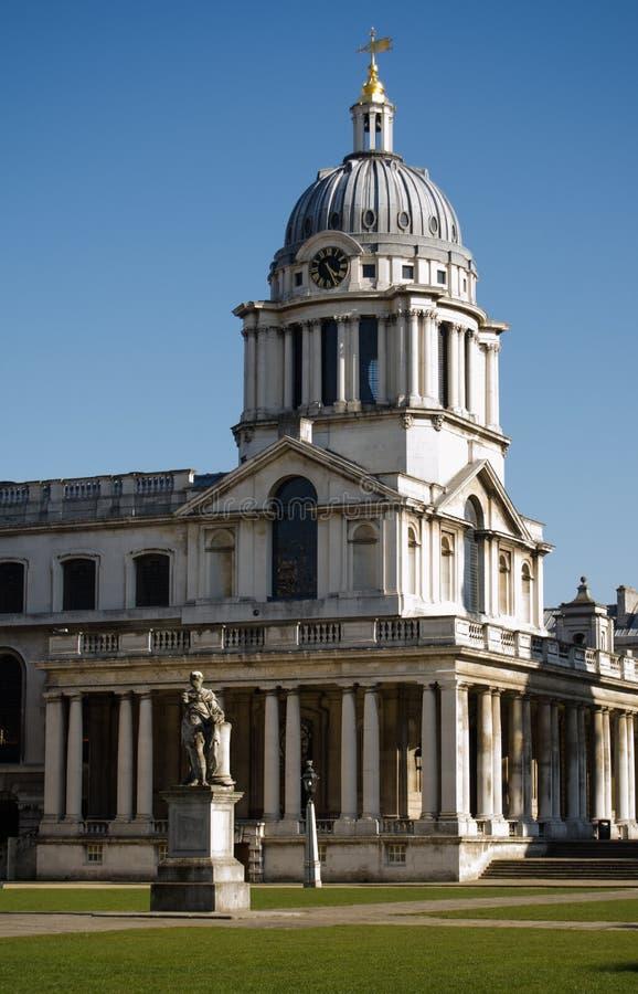 Πανεπιστήμιο του Γκρήνουιτς, Λονδίνο στοκ εικόνες