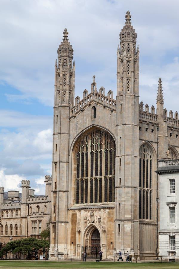 Πανεπιστήμιο του Κέιμπριτζ Αγγλία παρεκκλησιών κολλεγίου βασιλιάδων στοκ φωτογραφία