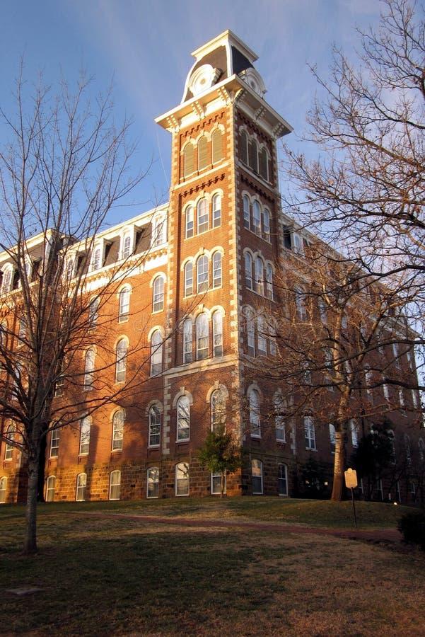 Πανεπιστήμιο του παλαιού κεντρικού αγωγού του Αρκάνσας στοκ φωτογραφία με δικαίωμα ελεύθερης χρήσης
