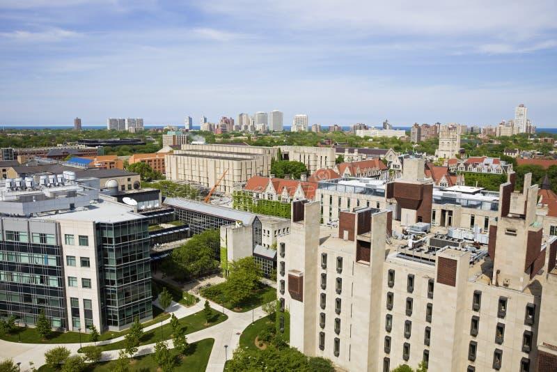 πανεπιστήμιο του Σικάγο&u στοκ φωτογραφία με δικαίωμα ελεύθερης χρήσης