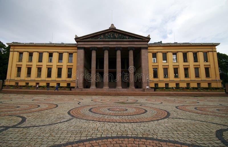 πανεπιστήμιο του Όσλο στοκ εικόνες