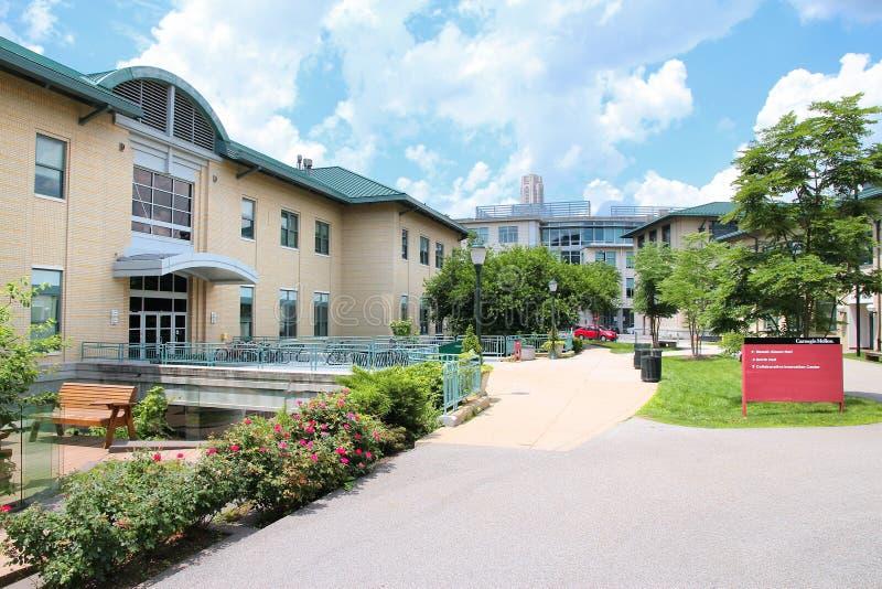 Πανεπιστήμιο του Carnegie Mellon στοκ εικόνα