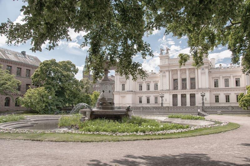 Πανεπιστήμιο του Lund στοκ φωτογραφία με δικαίωμα ελεύθερης χρήσης