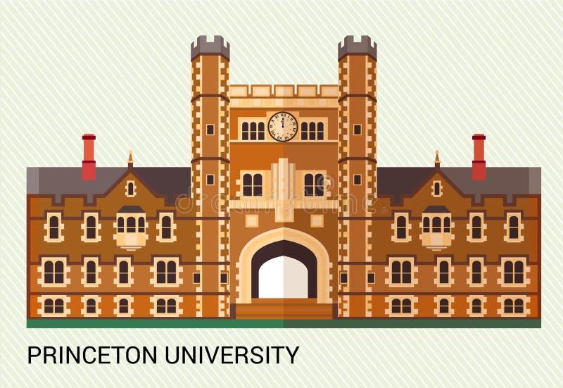 Πανεπιστήμιο του Princeton επίσης corel σύρετε το διάνυσμα απεικόνισης απεικόνιση αποθεμάτων