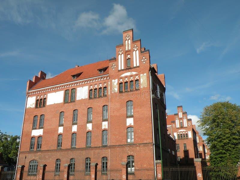 πανεπιστήμιο klaipeda στοκ εικόνα με δικαίωμα ελεύθερης χρήσης