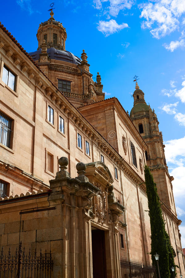 Πανεπιστήμιο Pontificia Universidad σε Σαλαμάνκα στοκ εικόνα με δικαίωμα ελεύθερης χρήσης