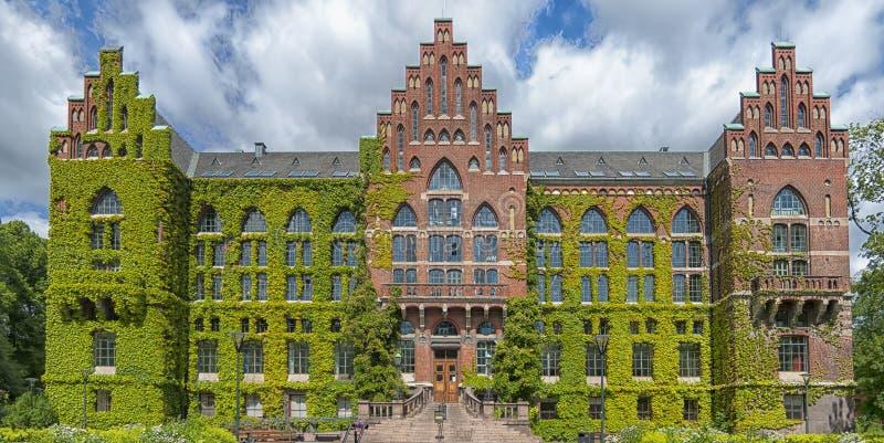 Πανεπιστημιακή βιβλιοθήκη του Lund στοκ εικόνες