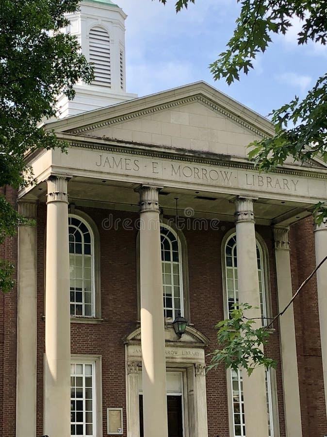 Πανεπιστημιακό ακαδημαϊκό κτήριο του Marshall στοκ φωτογραφίες με δικαίωμα ελεύθερης χρήσης