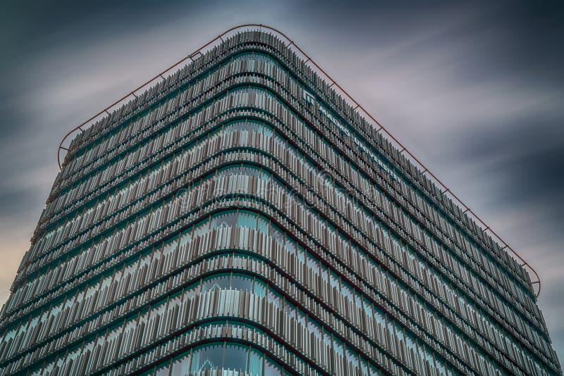 Πανεπιστημιακό κτήριο του Μάλμοε Niagara στοκ φωτογραφία με δικαίωμα ελεύθερης χρήσης