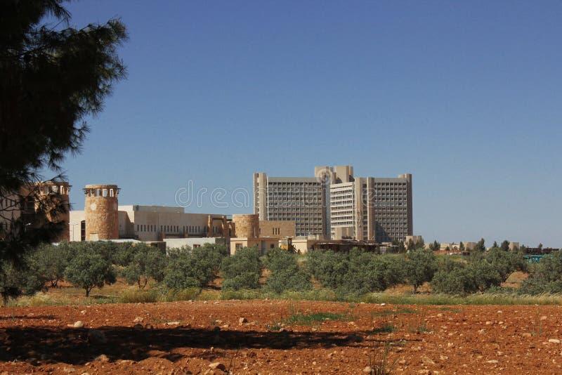 Πανεπιστημιακό νοσοκομείο βασιλιάδων Αμπντουλάχ στοκ εικόνα με δικαίωμα ελεύθερης χρήσης