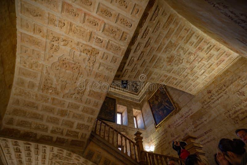 Πανεπιστημιακό Pontificia Σαλαμάνκας στοκ φωτογραφίες με δικαίωμα ελεύθερης χρήσης