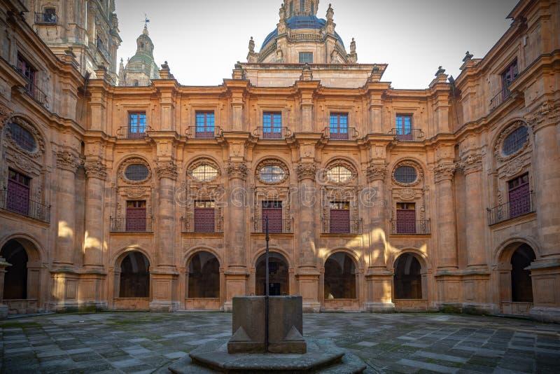 Πανεπιστημιακό Pontificia Σαλαμάνκας στοκ εικόνες