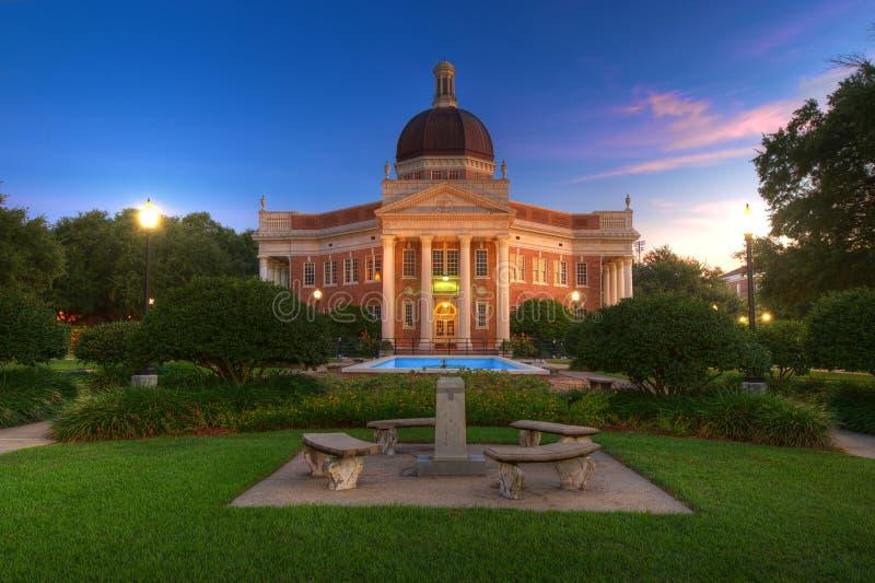 Πανεπιστημιούπολη κολλεγίου στοκ φωτογραφίες με δικαίωμα ελεύθερης χρήσης