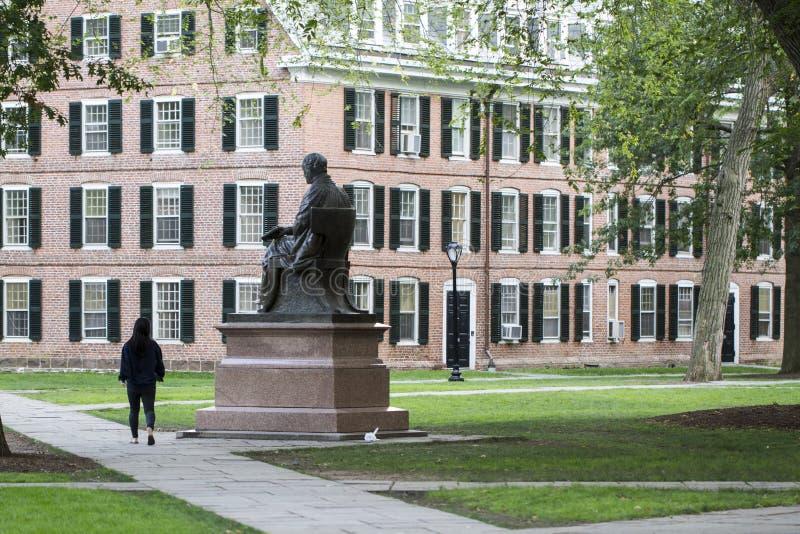 Πανεπιστημιούπολη πανεπιστημίου Γέιλ στοκ φωτογραφία με δικαίωμα ελεύθερης χρήσης