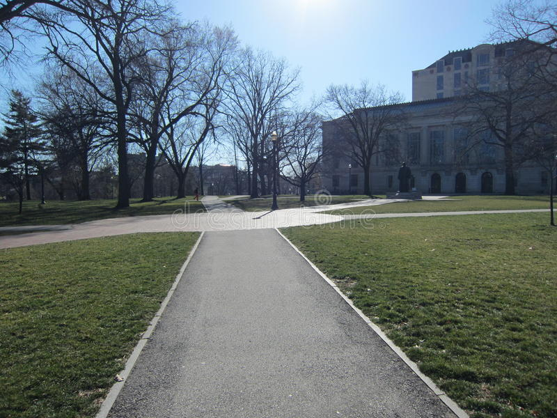 Πανεπιστημιούπολη στοκ εικόνα