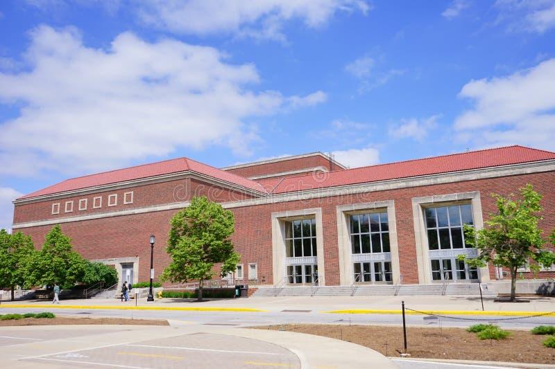 Πανεπιστημιούπολη Purdue στοκ εικόνα με δικαίωμα ελεύθερης χρήσης