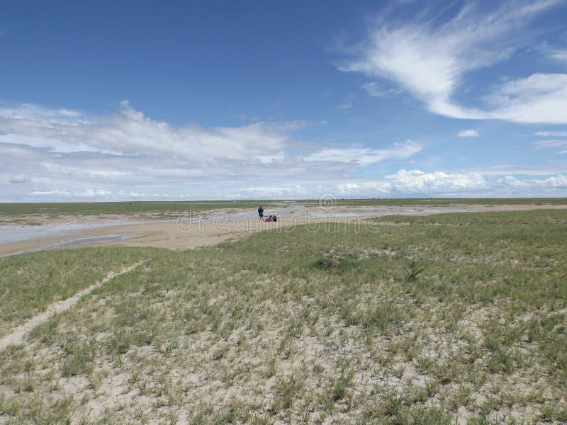 Πανοραμικές λήψεις Makgadikgadi στοκ φωτογραφία με δικαίωμα ελεύθερης χρήσης
