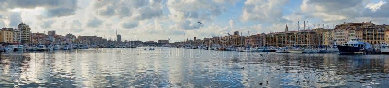 Πανοραμικές απόψεις της Μασσαλίας στοκ εικόνα με δικαίωμα ελεύθερης χρήσης