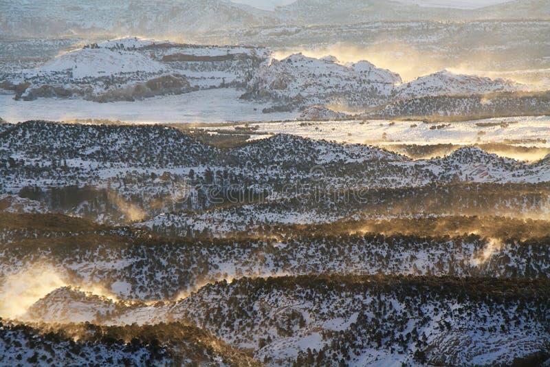 Πανοραμική άποψη από την κρατική διαδρομή 12 της Γιούτα φυσική πάροδος στοκ εικόνα με δικαίωμα ελεύθερης χρήσης