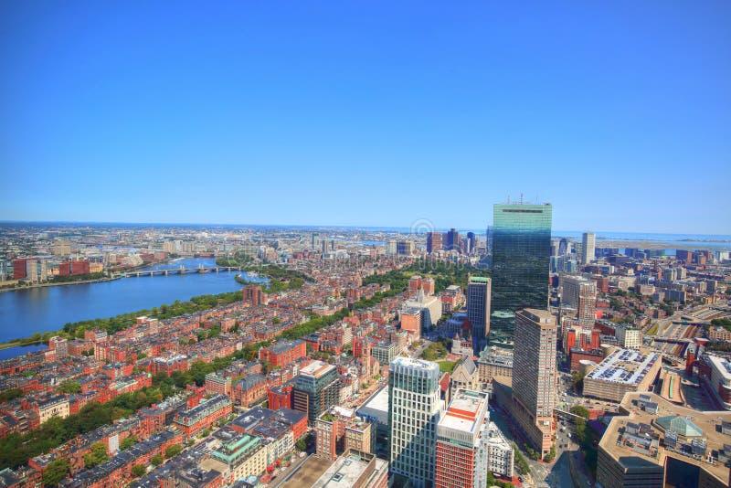Πανοραμική άποψη από τη συνετή γέφυρα παρατήρησης πύργων στοκ εικόνα με δικαίωμα ελεύθερης χρήσης