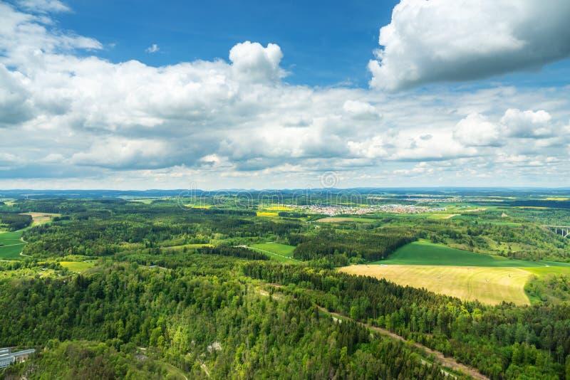 πανοραμική άποψη σε Rottweil Γερμανία στοκ φωτογραφία με δικαίωμα ελεύθερης χρήσης