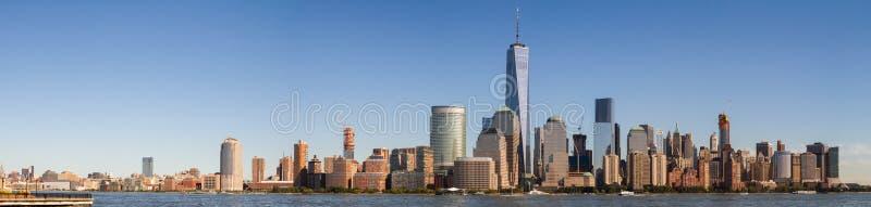 Πανοραμική άποψη της πόλης της Νέας Υόρκης στοκ εικόνα με δικαίωμα ελεύθερης χρήσης