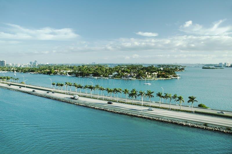 Πανοραμική άποψη του λιμένα Everglades, Fort Lauderdale στοκ φωτογραφία με δικαίωμα ελεύθερης χρήσης