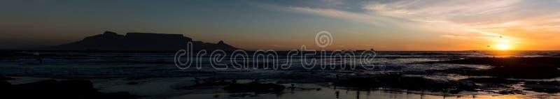 Πανοραμική άποψη του Καίηπ Τάουν στοκ φωτογραφία με δικαίωμα ελεύθερης χρήσης