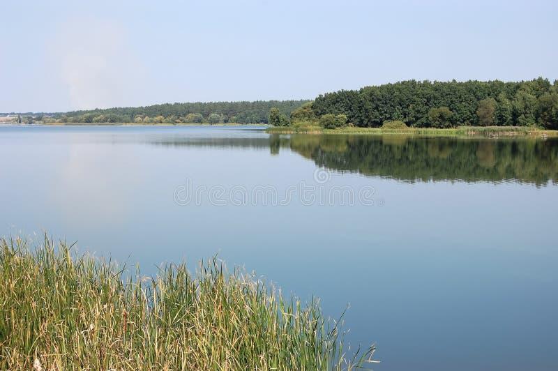 Πανοραμική άποψη του ποταμού Ros, Ουκρανία στοκ φωτογραφία με δικαίωμα ελεύθερης χρήσης