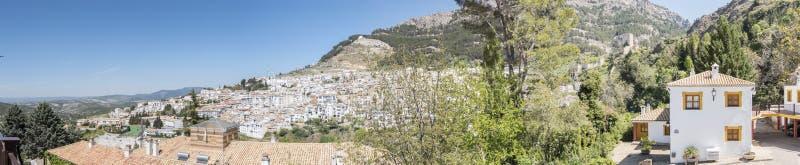 Πανοραμική άποψη Cazorla του χωριού, στην οροσειρά de Cazorla, Jae στοκ φωτογραφία με δικαίωμα ελεύθερης χρήσης