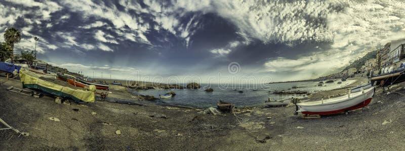 πανοραμική θάλασσα στοκ φωτογραφία