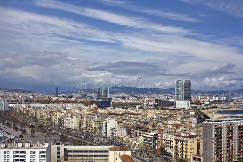 πανοραμική όψη πόλεων στοκ εικόνα με δικαίωμα ελεύθερης χρήσης