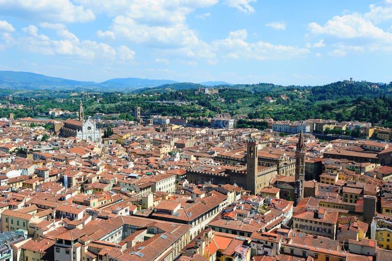 Πανοραμική όψη της Φλωρεντίας στοκ εικόνα με δικαίωμα ελεύθερης χρήσης