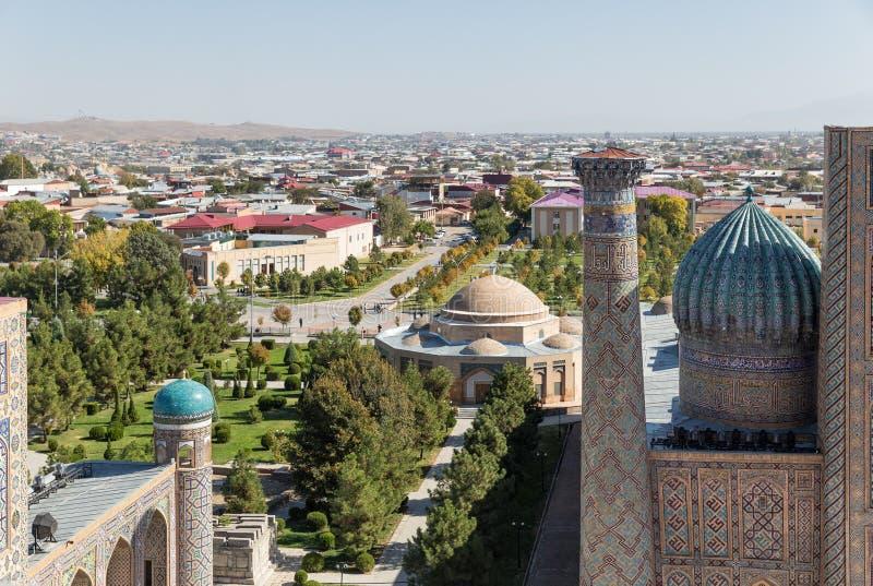 πανοραμική όψη του Σάμαρκα& στοκ φωτογραφία με δικαίωμα ελεύθερης χρήσης
