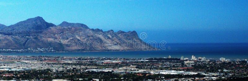 Πανοραμικός του σκέλους, Νότια Αφρική στοκ εικόνες