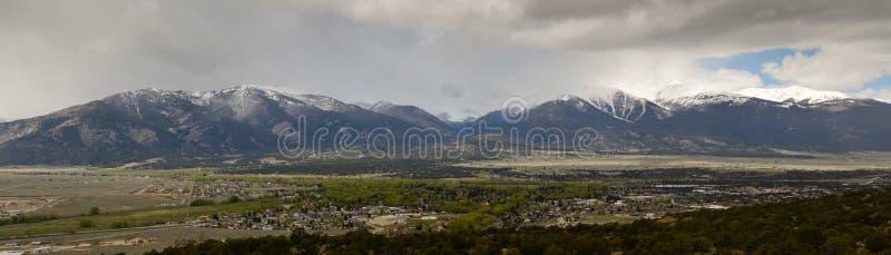 Πανοραμικό τοπίο του Κολοράντο στοκ εικόνα με δικαίωμα ελεύθερης χρήσης