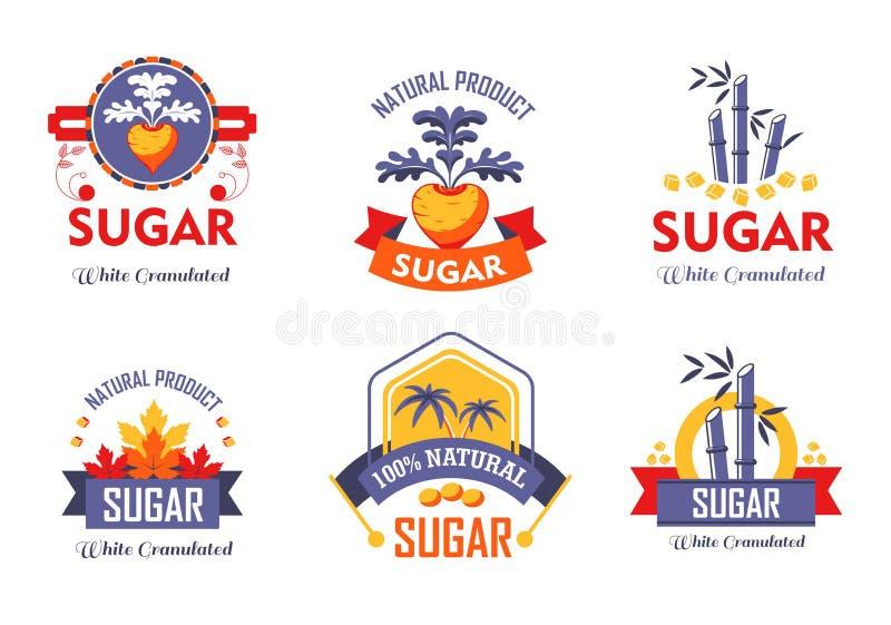 Παντζάρια καλάμων ζάχαρης και απομονωμένες σφένδαμνος καλλιέργεια κα απεικόνιση αποθεμάτων