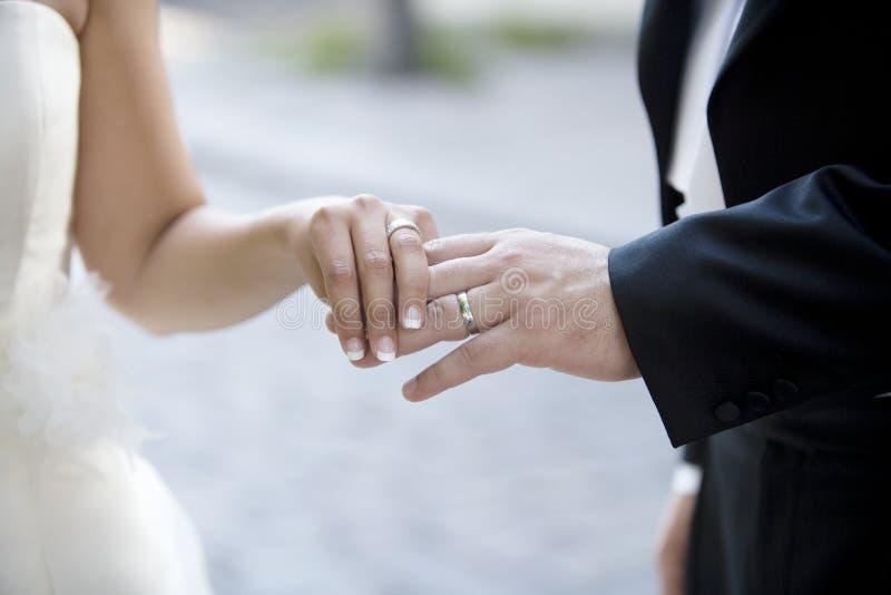 Παντρεμένο ζευγάρι στοκ εικόνες