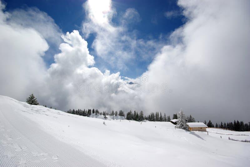 πανόραμα ηλιόλουστο Tirol βο& στοκ φωτογραφίες με δικαίωμα ελεύθερης χρήσης