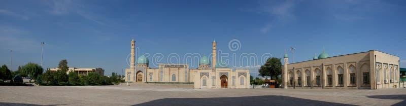 Πανόραμα ιμαμών Khazrati, Τασκένδη, Ουζμπεκιστάν στοκ εικόνα