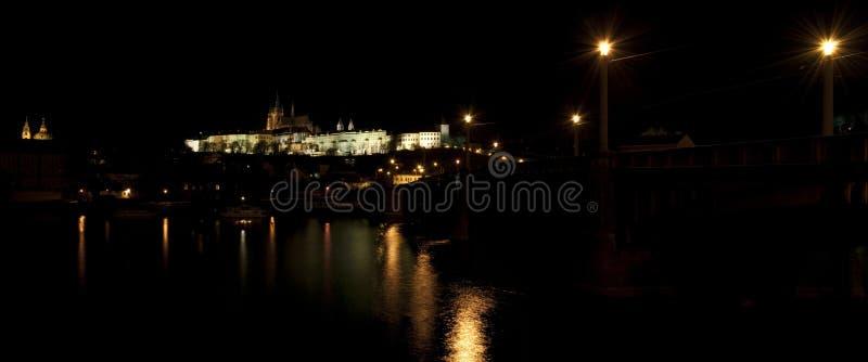 Πανόραμα κάστρων της Πράγας στοκ φωτογραφία με δικαίωμα ελεύθερης χρήσης