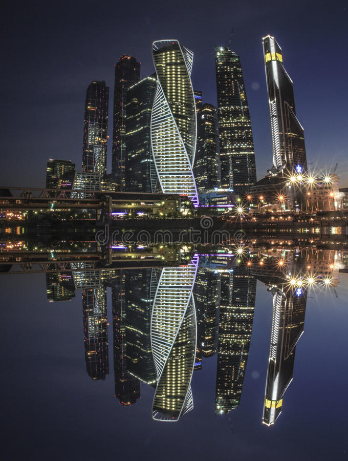 Πανόραμα κρατικού πανεπιστημίου της Μόσχας στοκ εικόνα με δικαίωμα ελεύθερης χρήσης