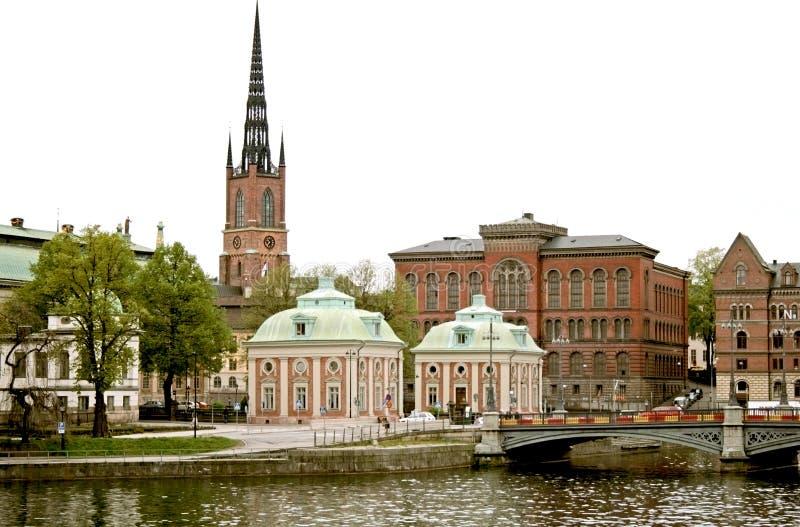 πανόραμα Στοκχόλμη στοκ εικόνες
