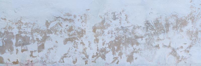 Πανόραμα σύστασης τοίχων με το ξεπερασμένο ασβεστοκονίαμα στοκ εικόνα