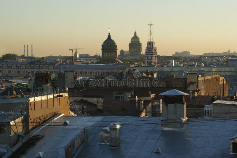 Πανόραμα της Αγία Πετρούπολης. Ρωσία στοκ φωτογραφία με δικαίωμα ελεύθερης χρήσης